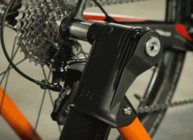 JetBlack M5 Pro Magnetic Bike Trainer - Fahrradtrainer