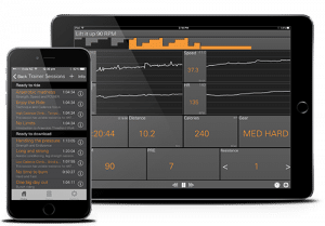 JetBlack Cycling App - Trainingseinheiten
