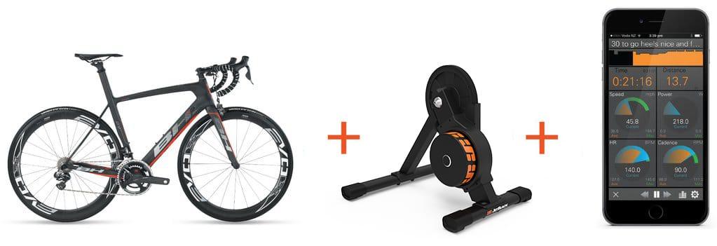 Fahrrad - JetBlack Volt Trainer - JetBlack Cycling App